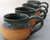 Stoneware Mug -  Bare Bottom - Hand Thrown