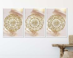 Alhamdulillah, Islamic Wall Art, Ramadan, Gold Background, Allah, Islamic Quotes, Picture Frames, Poster, Decorative Boxes