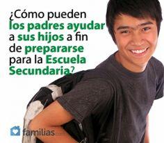 ¿Cómo pueden los padres ayudar a sus hijos a fin de prepararse para la Escuela Secundaria?