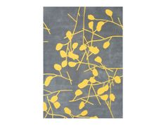 Rent the Festival Grey and Yellow Rug $75.50