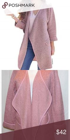 9ab131d59b NWT Chicwish Wide Lapel Open Front Cardigan L -XL Who's ready for a  stunning topper · Front DesignT Shirt And JeansCool GirlWoven ...