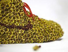 Um tênis feito de… flores? - Living Design