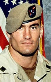 "Army CPL. Patrick D. Tillman, 27, of Chandler, Arizona. Died April 22, 2004, serving during Operation Enduring Freedom. Assigned to 2nd Battalion, 75th Ranger Regiment, Fort Lewis, Washington. Died of small-arms friendly-fire when his patrol mistakenly came under attack near Spera, Afghanistan. (Awarded the SILVER STAR ""for gallantry in action"".)"