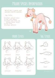[MUUNI] Species Info by strangelykatie on DeviantArt Cute Animal Drawings, Kawaii Drawings, Cute Drawings, Wolf Drawings, Animal Sketches, Art Style Challenge, Drawing Challenge, Art Journal Challenge, Creature Concept Art