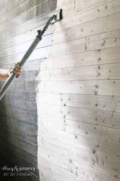 Planking Staining and Progress! staining wood walls 6821024 Planking Staining and Progress!} The post Planking Staining and Progress! appeared first on Wood Diy. Painted Wood Walls, Wood Plank Walls, Wood Planks, Planked Walls, Faux Wood Wall, Plywood Walls, Diy Wood Wall, Pallet Walls, Stained Shiplap