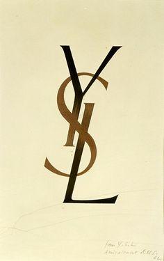 logo YSL Cassandre 1961