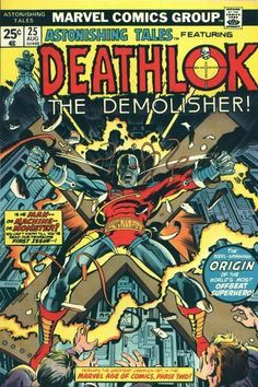 Deathlok - Astonishing Tales #25 Comic Book Cover