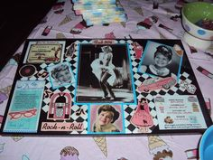 OMGeee..CUTE idea for a 50's dinner party theme for an adults bday...put their faces on Marilyn, Lucy, and Audrey!  LOVE it!!