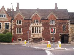 Katherine Swynfords home on Pottergate in Lincoln