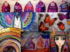 Open Art, London City, Artist Painting, Early Childhood, Illustration, Inspiration, Fish, Biblical Inspiration, Infancy