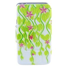 Kinston Pale Green Vines Pattern PU Leather Full Body Case for Samsung S5 I9600 – EUR € 7.99