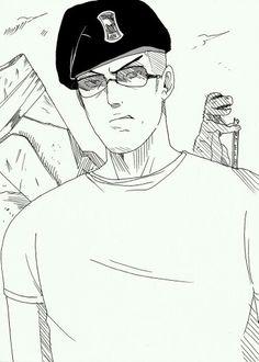 Manga-Styled Craig Boone - Fallout: New Vegas