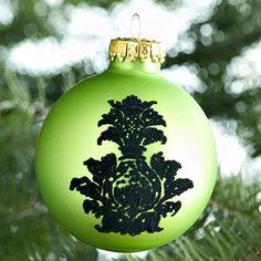 Elegant Handmade Ornaments: Velvet