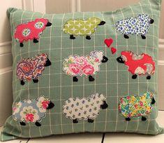 Love Ewe Applique by Bustle & Sew, via Flickr