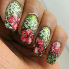 Paints And Polish: Happy Tuesday - Floral Garden Escape