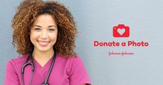 Happy National #NursesWeek! Learn how simply uploading a photo can help support scholarships for future #nurses. #DonateAPhoto #JNJ