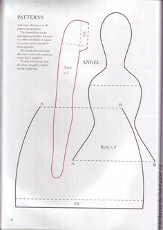 Быстро и легко шьем Тильду Садового ангела за 14 шагов - Ярмарка Мастеров - ручная работа, handmade