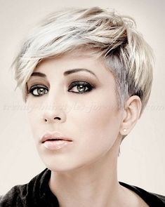 ultra short hair styles for women 2015 - Google Search