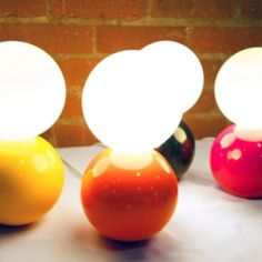 Ball lamps from BigGame
