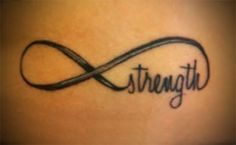 Infinity tattoo designs are one that holds a lot of meanings.