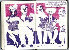 de vuelta con el cuaderno: Cuader-nonsense 023