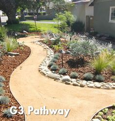 Using Limestone screening, this is the tricycle pathway I want around and through the yard. using this product?