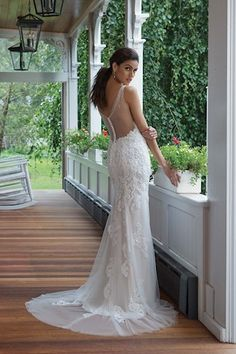 Sweetheart Gowns - Style V-Neck Venice Lace and Tulle Gown Wedding Dress Gallery, Lace Wedding Dress, Fit And Flare Wedding Dress, Classic Wedding Dress, Dream Wedding Dresses, Tulle Wedding, Dress Lace, Sweetheart Bridal, Sweetheart Wedding Dress