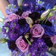 Divine purple boquette