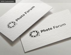 Photo Forum Logo Templates Photo Forum Logo template. Memorable logo, suitable for organizations, forums and websites related t by LogoBuy