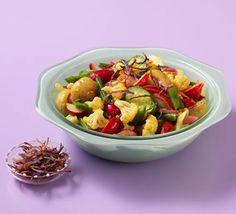 Piccalilli potato salad Roasted Potatoes, Bbc Good Food Recipes, Healthy Recipes, Healthy Meals, Goats Curd, Piccalilli, Rainbow Salad, How To Make Potatoes