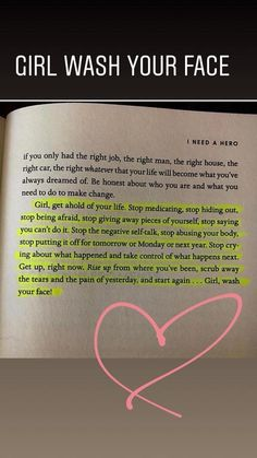 One of the best books I've ever read! Girl Wash Your Face by Rachel Hollis True Quotes, Book Quotes, Words Quotes, Great Quotes, Motivational Quotes, Inspirational Quotes, Sayings, Qoutes, Oprah Quotes