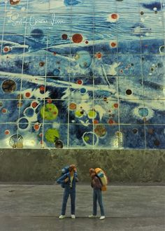 Metro Lisboa - underwater world