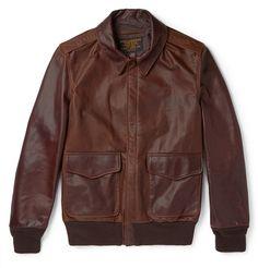 SchottA2 Leather Flight Jacket