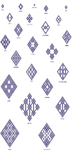 青森県津軽地方に伝わる伝統的な刺し子、津軽こぎん。縫い付けられた糸で浮かび上がる模様は、素朴な北欧雑貨と相性抜群なんです!