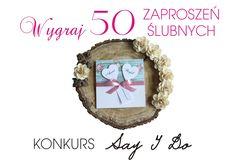 Zasady konkursu na naszym fanpage https://www.facebook.com/ZaproszeniaSayIDo/