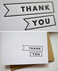 printable minimal thank you card calligraphy pinterest modern