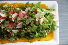Beet Carpaccio with Arugula, Radishes and Grapefruit recipe from Food52