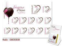 Plan de table mariage th me floral romantique autumn - Plan de table coeur mariage ...