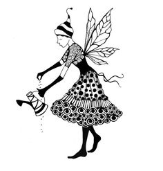 Lavinia Stamps - Clear Stamp - Fairy Melodie