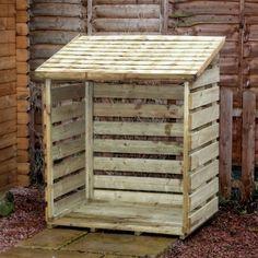 DIY Wooden Pallet Log