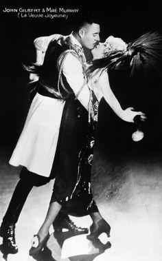 John Gilbert Mae Murray The Merry Widow by Sad Hill - Bizarre Los Angeles Archive Mae Murray, Erich Von Stroheim, John Gilbert, Lillian Gish, Merry Widow, Mary Pickford, Vintage Hollywood, Classic Hollywood, Silent Film