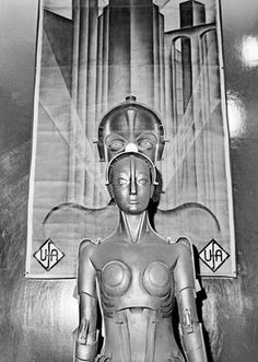 The robot costume from Metropolis (Fritz Lang, 1927)