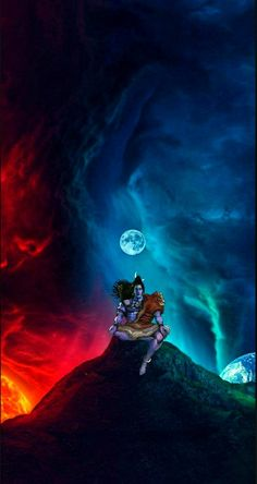 Lord Shiva as adiyogi in creative art painting wallpaper Shiva Tandav, Shiva Linga, Shiva Art, Hindu Art, Deus Vishnu, Lord Vishnu, Lord Hanuman Wallpapers, Lord Shiva Hd Wallpaper, Lorde Shiva