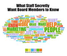 What Staff Want Board Members to Know | #KiviLerouxMiller | nonprofitmarketingguide.com