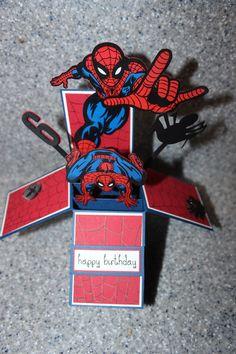 spiderman card