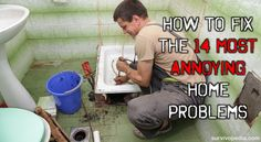 How To Fix The 14 Most Annoying Home Problems ByTheresa Crouse - SurvivoPedia As preppers, we're typically good at fixing things because we enjoy being self-sufficient. These annoying home problems won't be annoying anymore after you read thr...