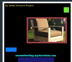 Diy Garden Furniture Projects 080141 - Woodworking Plans and Projects!