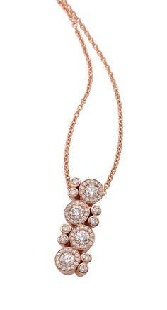 Rosendorff 'Essentials Collection' Rose Gold Brilliant Diamond Pendant