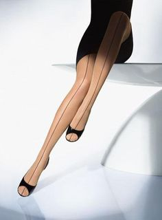 Wolford. Front seams!