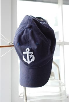 anchor baseball hat
